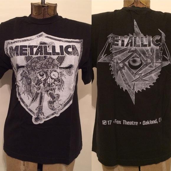 Sweet Metallica bootleg 2013 2018 concert tee S/M